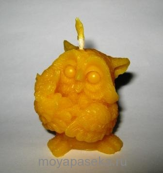 декоративные свечи из пчелиного воска