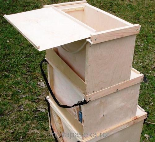 Обмен опытом пчеловода по использованию ящика-ловушки для пчел